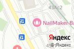 Схема проезда до компании Фиеста Парк в Москве