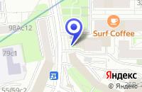 Схема проезда до компании ТФ ПОСТУЛАТ в Москве