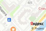 Схема проезда до компании ИЗБА Де Люкс в Москве