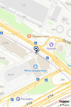 Икс Камин на карте Москвы
