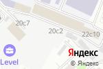 Схема проезда до компании Какие люди в Москве