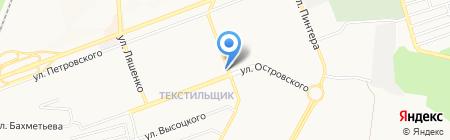 Муж на час на карте Донецка