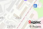 Схема проезда до компании Южин в Москве