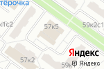 Схема проезда до компании Клуб33 в Москве