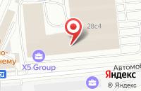 Схема проезда до компании Холдинг Петровский в Москве