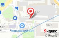 Схема проезда до компании СантСтрой в Москве