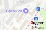 Схема проезда до компании ТехПромПоставка в Москве