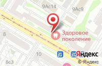 Схема проезда до компании Рудмет-Групп в Москве
