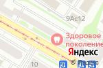 Схема проезда до компании МЕЛИССА в Москве