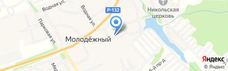 Магазин продуктов на карте Глухих Полян