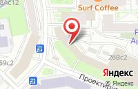 Схема проезда до компании Морис в Москве