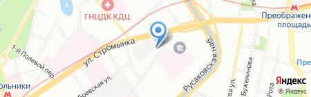 Ладомир на карте Москвы