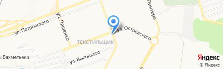 Наша Ряба на карте Донецка
