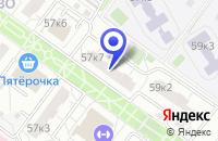 Схема проезда до компании САЛОН БЫТОВОЙ ТЕХНИКИ АМО в Москве