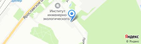 Лион-Авто на карте Москвы