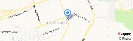 Скиф на карте Донецка