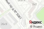 Схема проезда до компании Автостоянка №105 в Москве