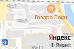 Схема проезда до компании Инжект в Москве
