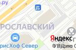 Схема проезда до компании 7 Пятниц в Москве