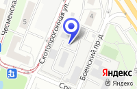 Схема проезда до компании ТФ ОБУВЬКОМПЛЕКТ в Москве