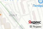 Схема проезда до компании Автостоянка на Шипиловском проезде в Москве