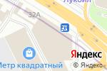 Схема проезда до компании Корпорация Безопасности в Москве