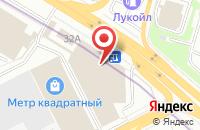 Схема проезда до компании Медиус в Москве