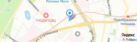 КОНСТЭЛ на карте Москвы