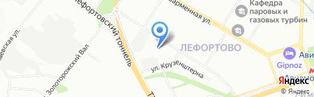 Синергия+ на карте Москвы