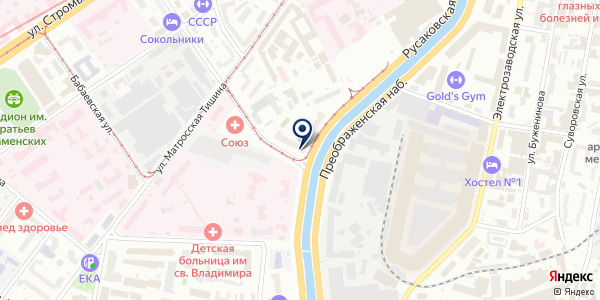 ТФ АЛЬБУМ на карте Москве