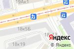 Схема проезда до компании Регистратор РОСТ в Москве