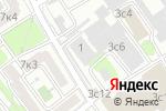 Схема проезда до компании Манометр-Сервис в Москве