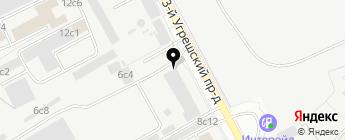 Стеклонайс на карте Москвы
