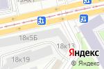 Схема проезда до компании Р.О.С.Т. Корпоративные проекты в Москве
