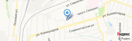 Детский сад №273 на карте Донецка