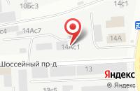 Схема проезда до компании Специализированный Монтажный Участок №7 в Москве