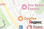 Схема проезда до компании Наш Доктор в Москве