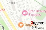 Схема проезда до компании Светландия в Москве