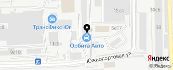 Орбита Авто на карте Москвы
