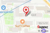 Схема проезда до компании Р-Саунд в Москве