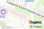 Схема проезда до компании Эверест Шина в Москве