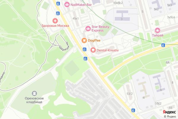 Ремонт телевизоров Шипиловский проезд на яндекс карте