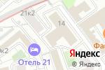Схема проезда до компании ArtWisteria в Москве