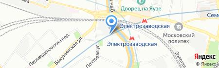 Каранти-М на карте Москвы