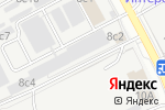 Схема проезда до компании Techno Loft в Москве