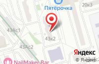 Схема проезда до компании МосЭвент Групп в Москве