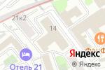 Схема проезда до компании МВ ГРУПП в Москве