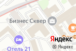 Схема проезда до компании Комплект сервис в Москве