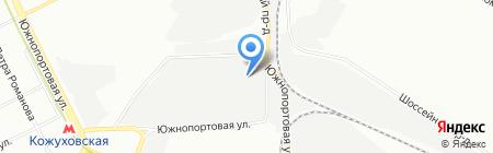 ВТО на карте Москвы