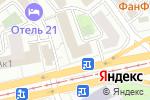 Схема проезда до компании Конвертор в Москве